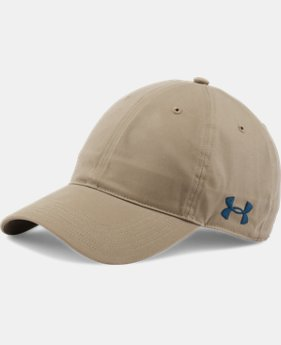 Men's UA Chino Crestable Cap  1  Color $16.49