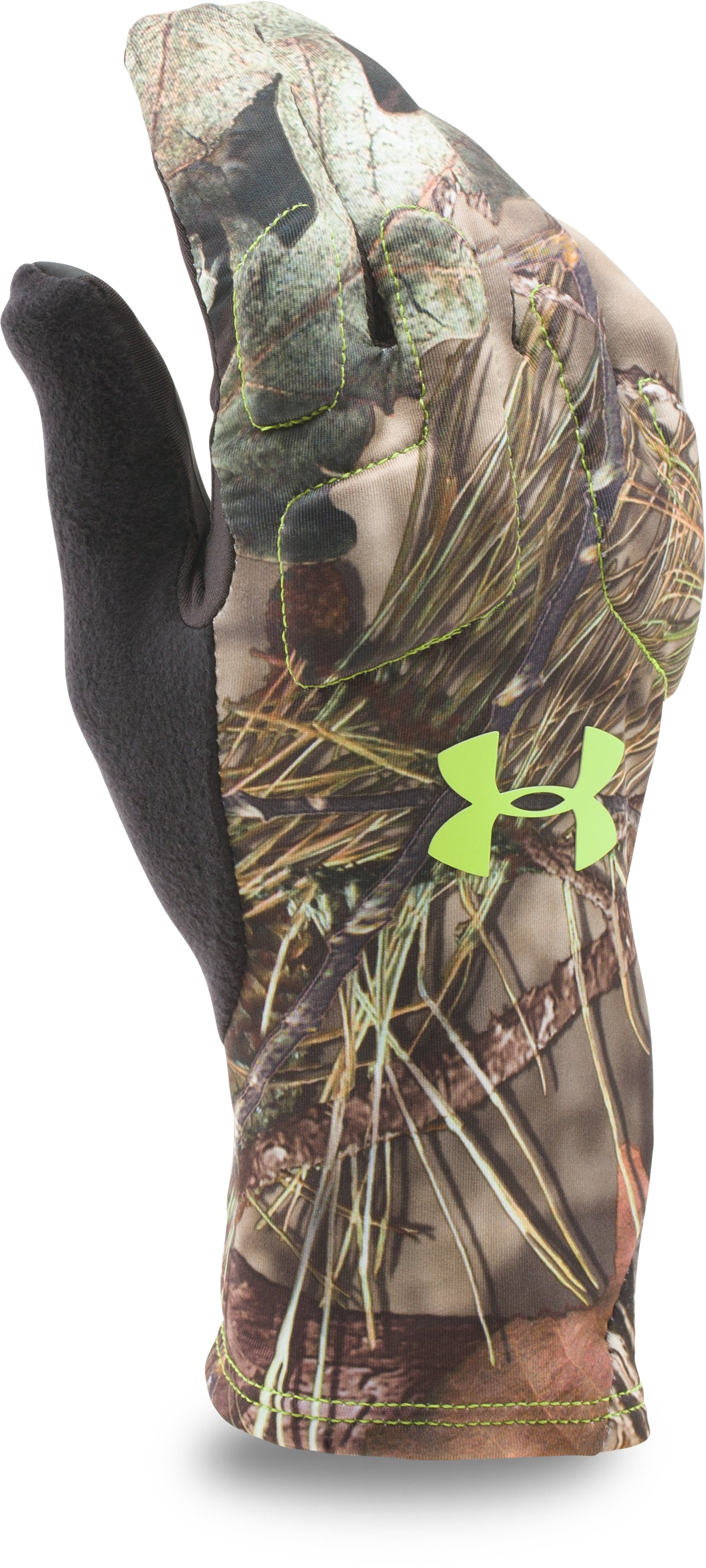 Men's UA Scent Control 2 Hunting Gloves, MOSSY OAK OPEN COUNTRY,
