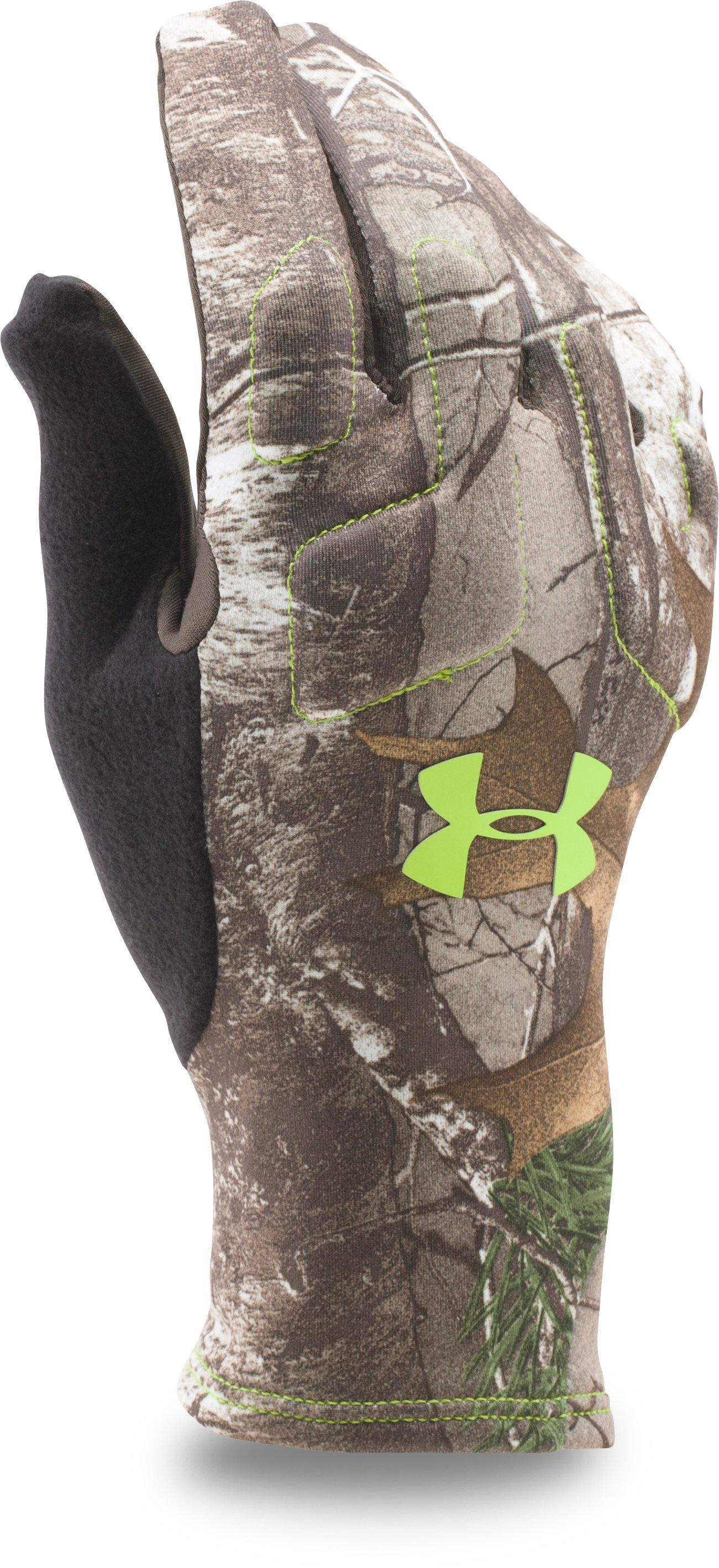 Men's UA Scent Control 2 Hunting Gloves, REALTREE AP-XTRA