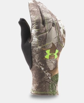 New Arrival  Men's UA Scent Control 2 Hunting Gloves  2 Colors $44.99