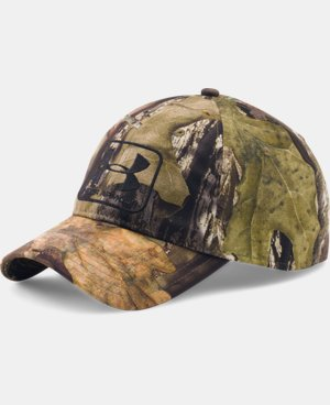 Men's UA Camo Stretch Fit Cap LIMITED TIME: FREE SHIPPING 1 Color $26.99
