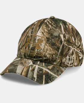 Men's UA Camo Stretch Fit Cap  3 Colors $29.99