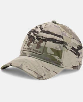 Men's UA Camo Stretch Fit Cap LIMITED TIME: FREE SHIPPING  $34.99