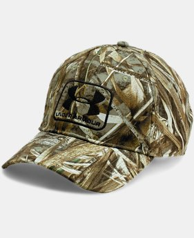 Men's UA Camo Stretch Fit Cap  2 Colors $34.99