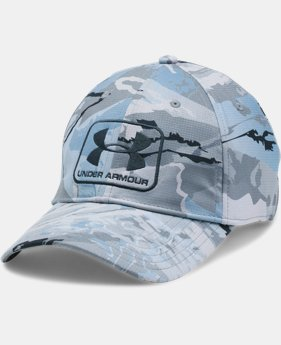 Men's UA Camo Stretch Fit Cap LIMITED TIME OFFER 1 Color $26.24