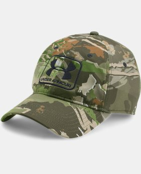 Men's UA Camo Stretch Fit Cap  4  Colors Available $29.99