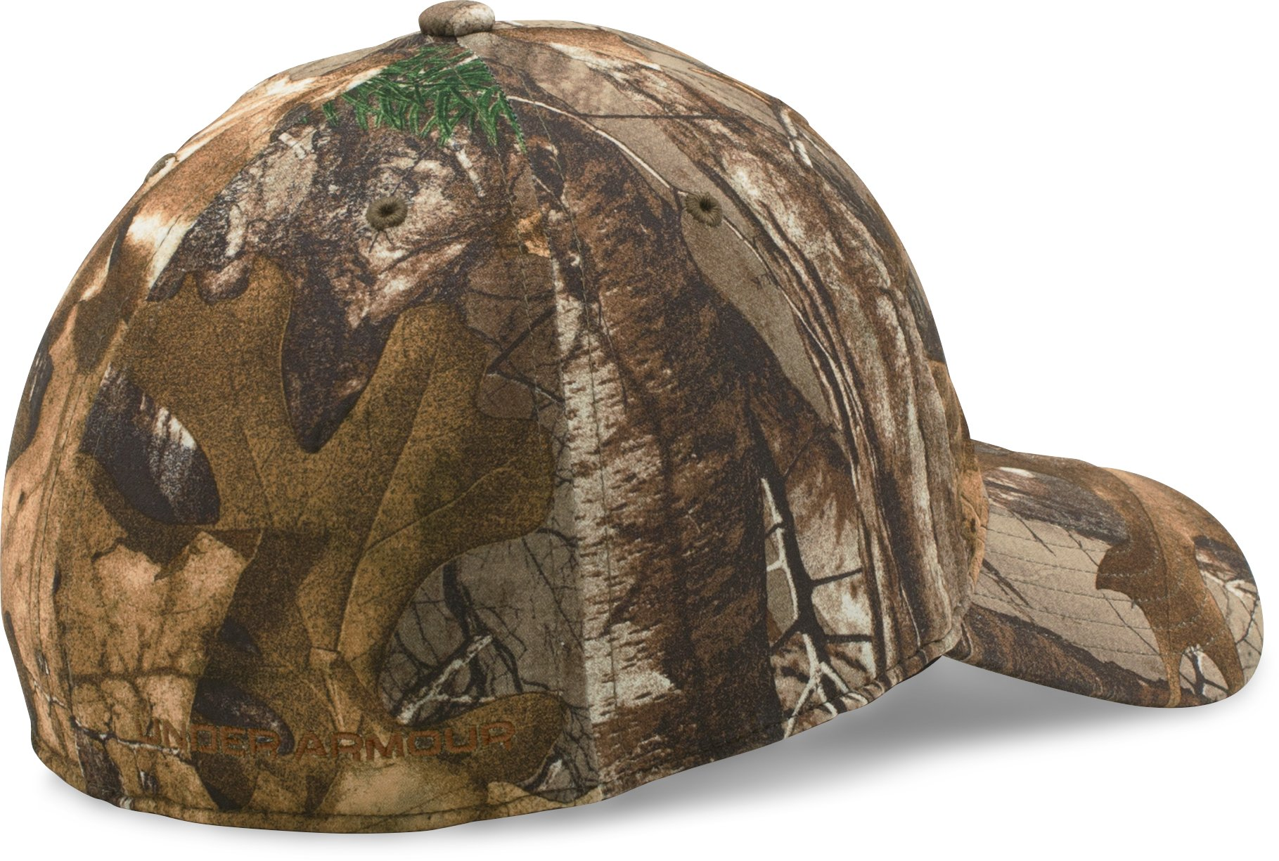 Men's UA Camo Stretch Fit Cap, REALTREE AP-XTRA, undefined