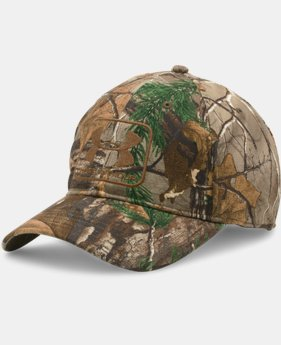 Men's UA Camo Stretch Fit Cap  2 Colors $16.99