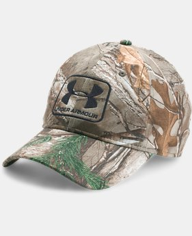 Men's UA Camo Stretch Fit Cap  1 Color $34.99