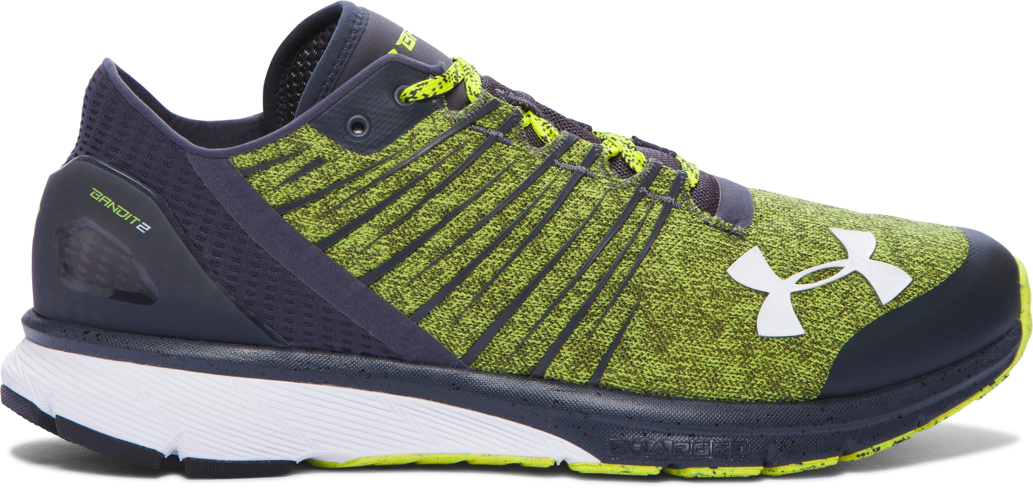 Men's UA Charged Bandit 2 XCB Running Shoes, Flash Light, undefined