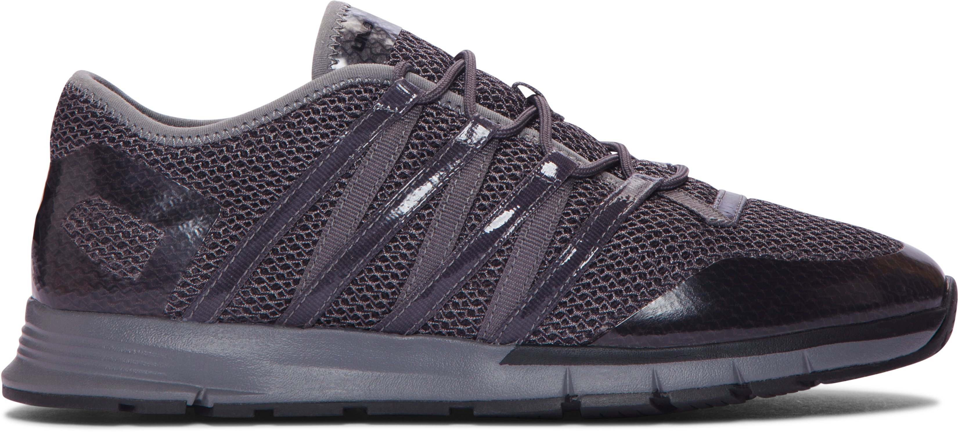 Women's UA Charged All-Around Training Shoes, Black , zoomed image