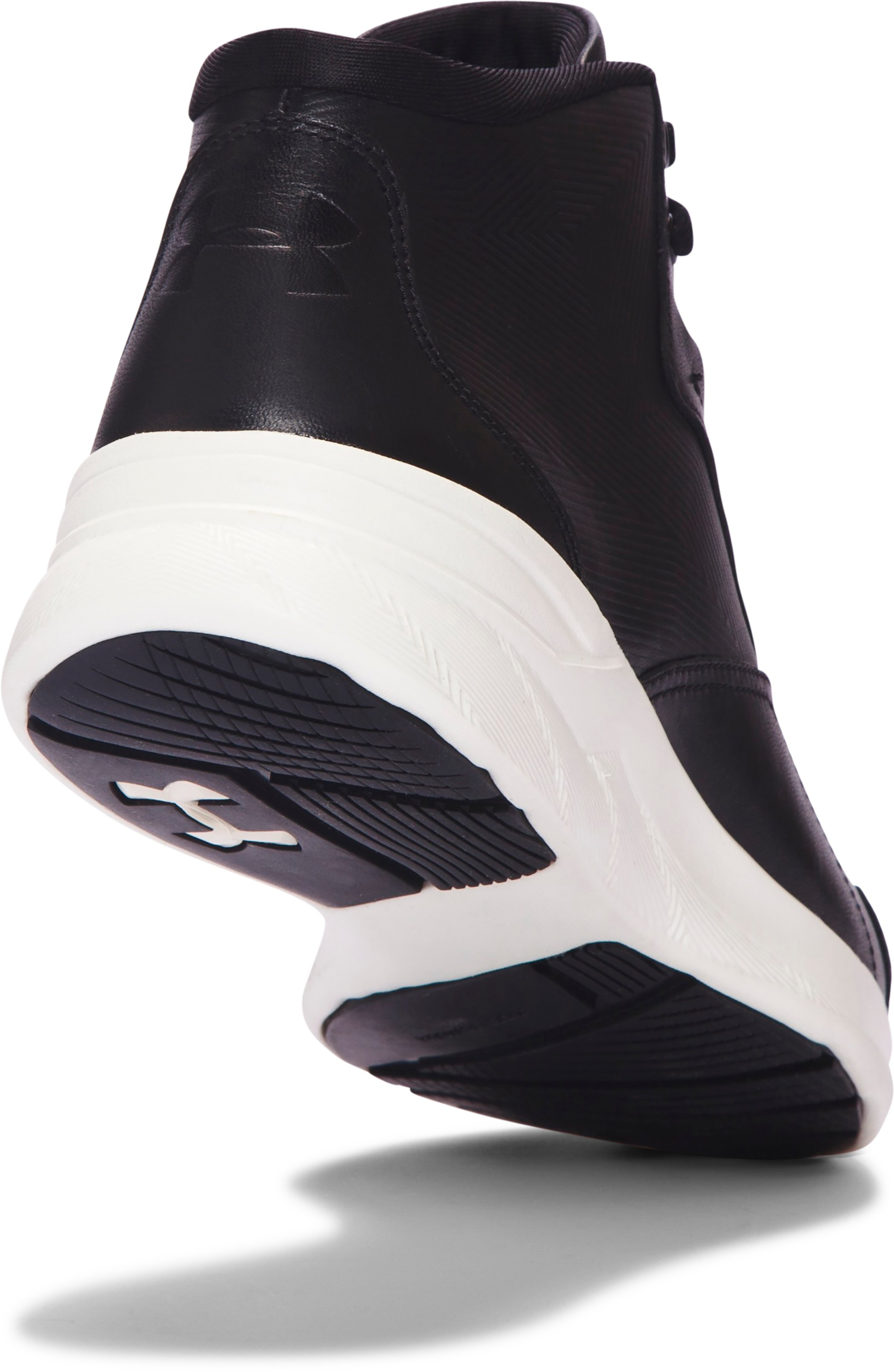Women's UA Charged Pivot Mid Lifestyle Shoes, Black ,