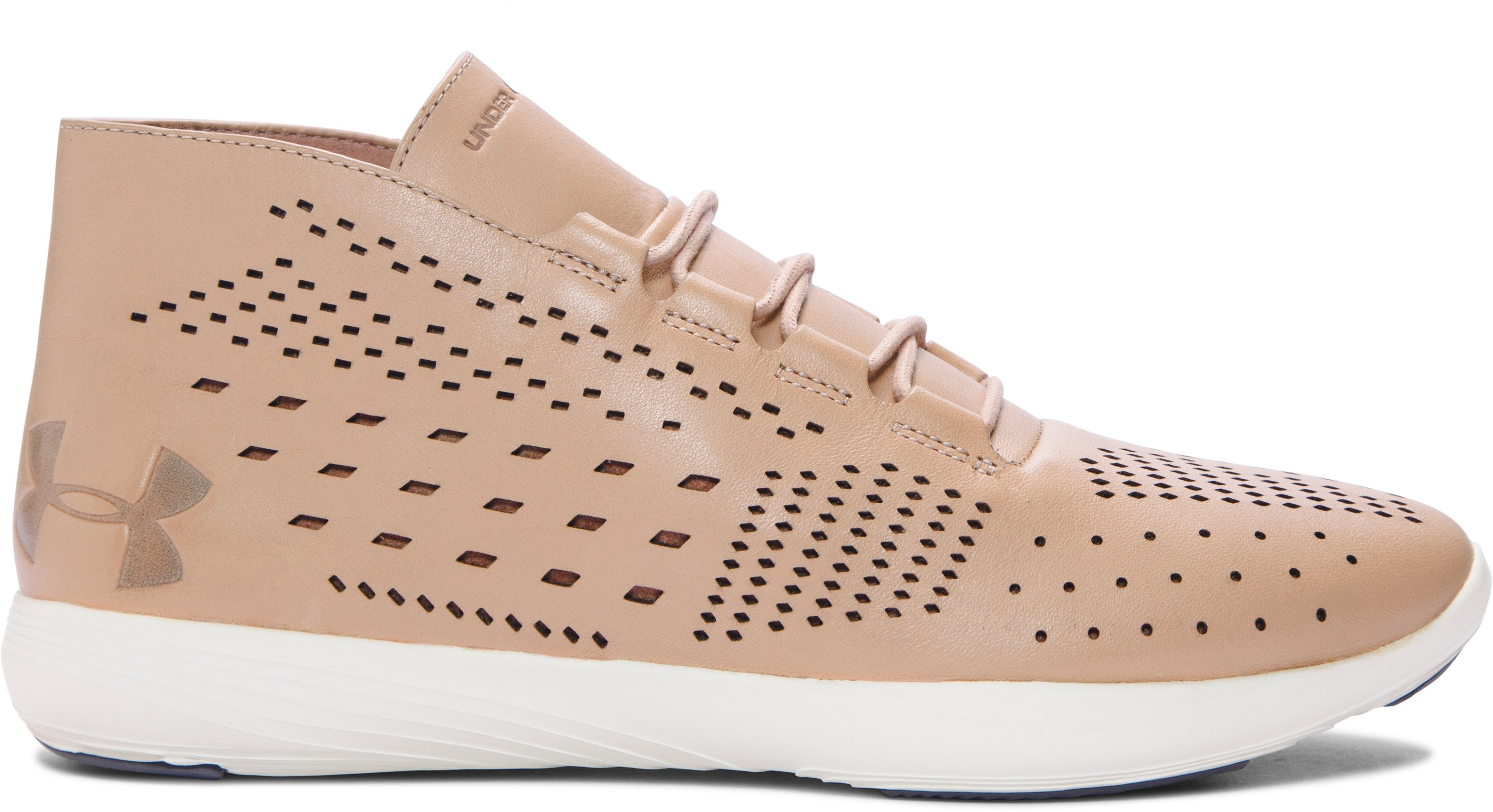 Women's UA Precision Mid Lifestyle Shoes, CORAL SANDS
