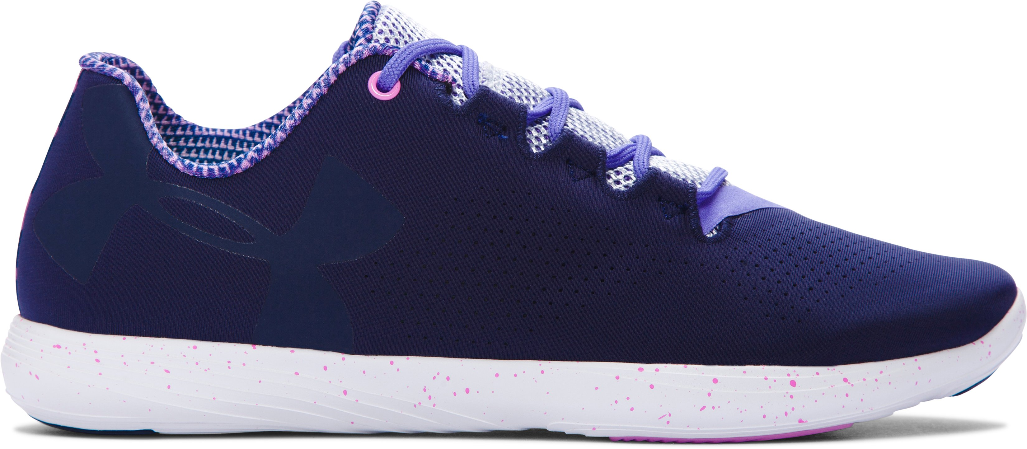 Women's UA Street Precision Low EXP Training Shoes, Midnight Navy