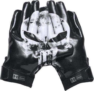 Attirant Menu0027s Under Armour® Alter Ego Punisher F5 Football Gloves, ...