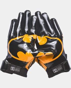 Men's Under Armour® Alter Ego Batman F5 Football Gloves  1 Color $44.99