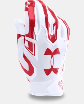 Men's Under Armour® Alter Ego Superman F5 Football Gloves   $44.99