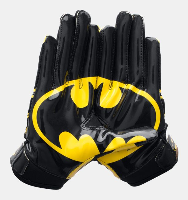 Boys  Under Armour® Alter Ego Batman F5 Football Gloves  806611edd