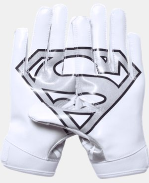 Boys' Under Armour® Alter Ego Superman F5 Football Gloves  1 Color $34.99