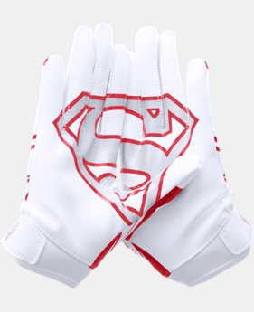 Boys' Under Armour® Alter Ego Superman F5 Football Gloves   $34.99