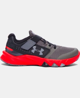 New Arrival  Boys' Pre-School UA Primed AC Running Shoes  1 Color $69.99