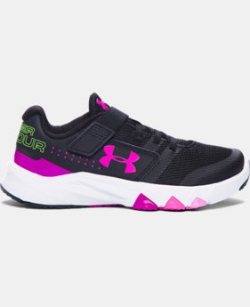 Girls' Pre-School UA Primed AC Running Shoes  1 Color $57.99