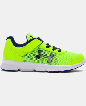 Boys' Pre-School UA Speed Swift AC Running Shoes  LIMITED TIME: FREE SHIPPING 3 Colors $59.99