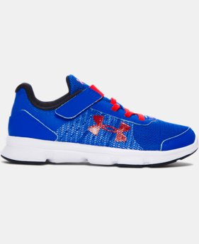 Boys' Pre-School UA Speed Swift AC Running Shoes  3 Colors $49.99