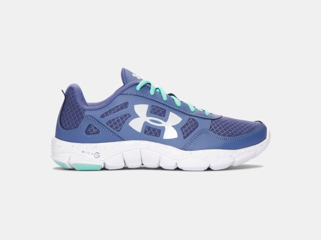 Under Armour Greish Blue Female Running Shoes 1285112