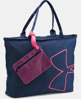 UA Big Logo Tote  5 Colors $34.99