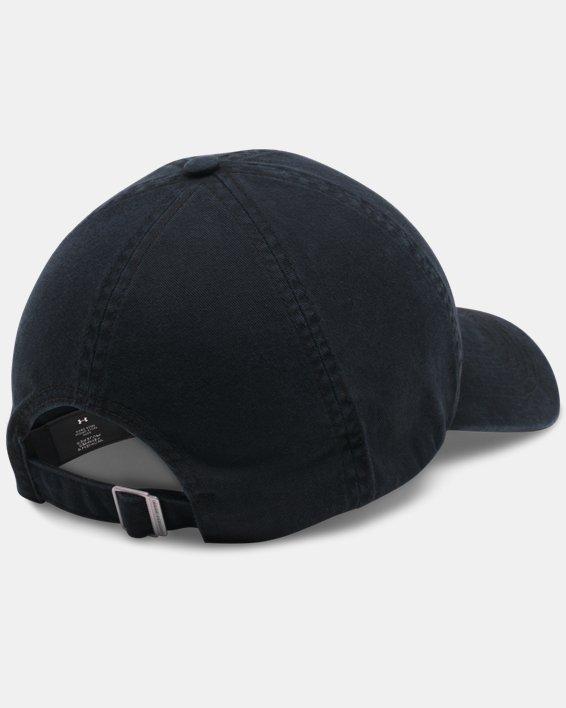 Women's UA Armour Washed Cap, Black, pdpMainDesktop image number 1