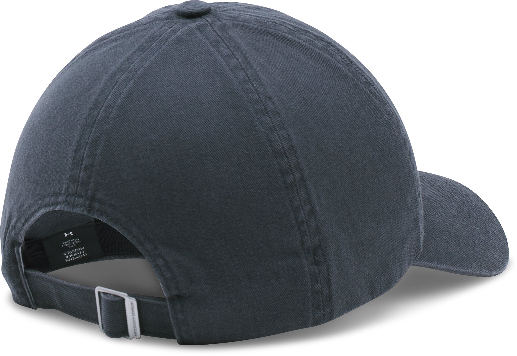 Women's UA Armour Washed Cap, STEALTH GRAY
