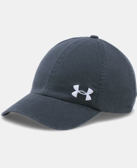 Women's UA Armour Washed Cap  1 Color $19.99