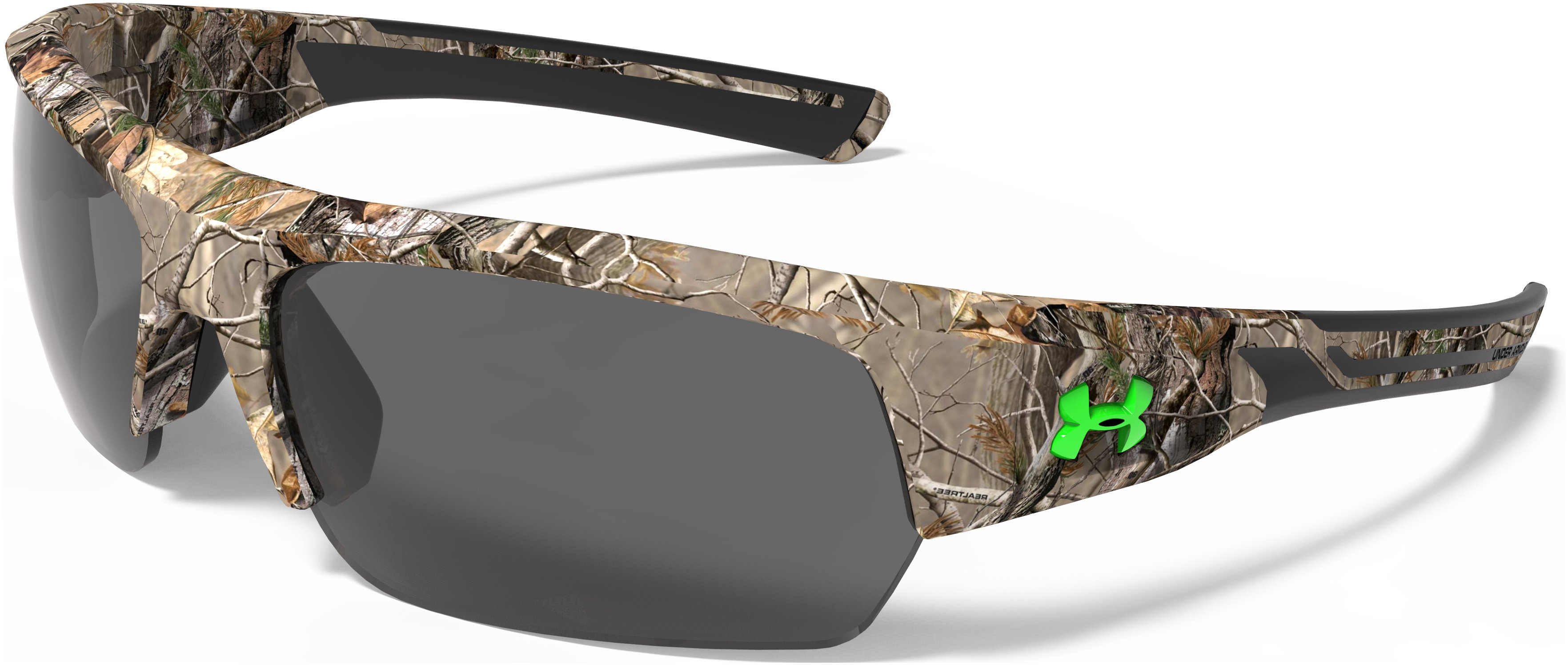 UA Big Shot Camo Sunglasses, SATIN REALTREE, zoomed image
