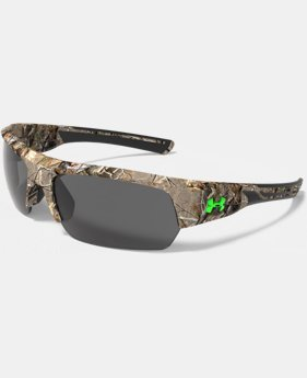 New Arrival UA Big Shot Camo Sunglasses  1 Color $109.99