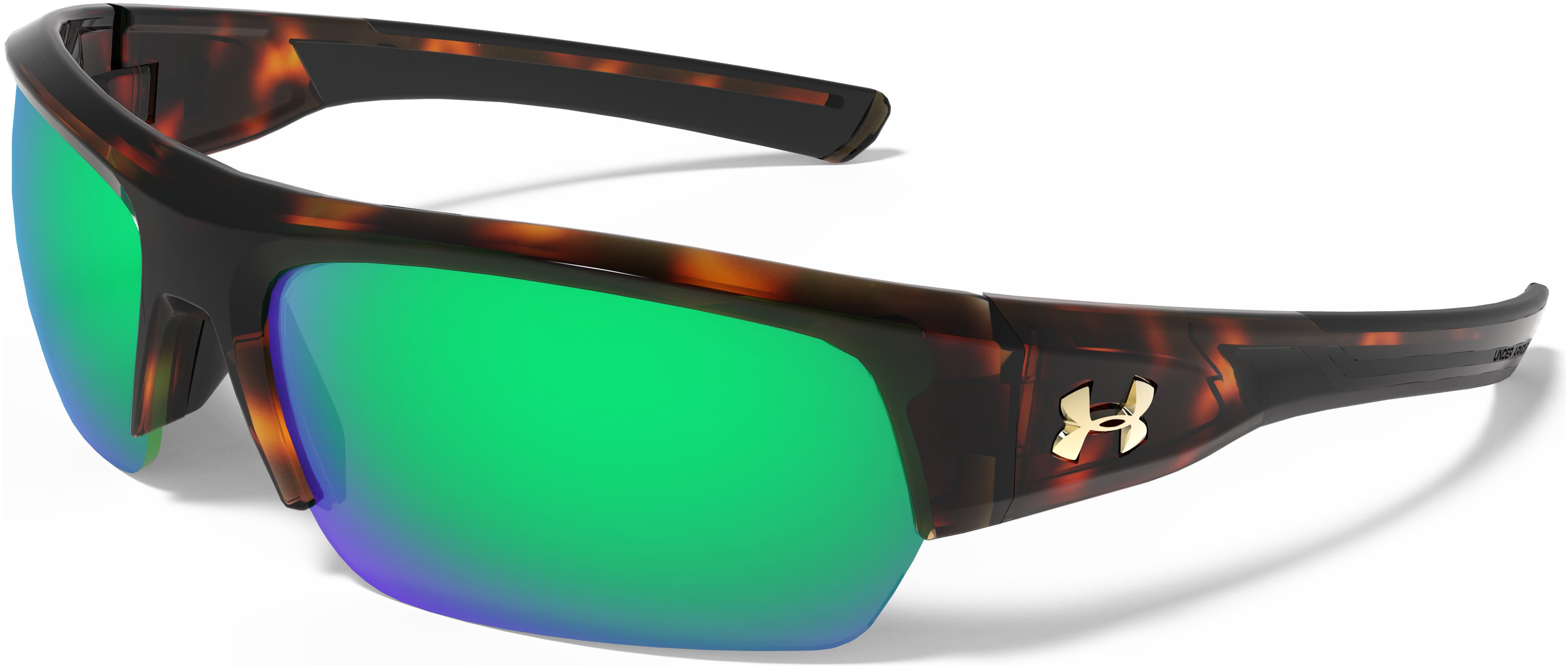 UA Big Shot Mirror Sunglasses, CRYSTAL TORT,