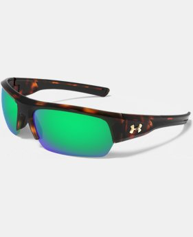 New Arrival UA Big Shot Mirror Sunglasses  1 Color $159.99