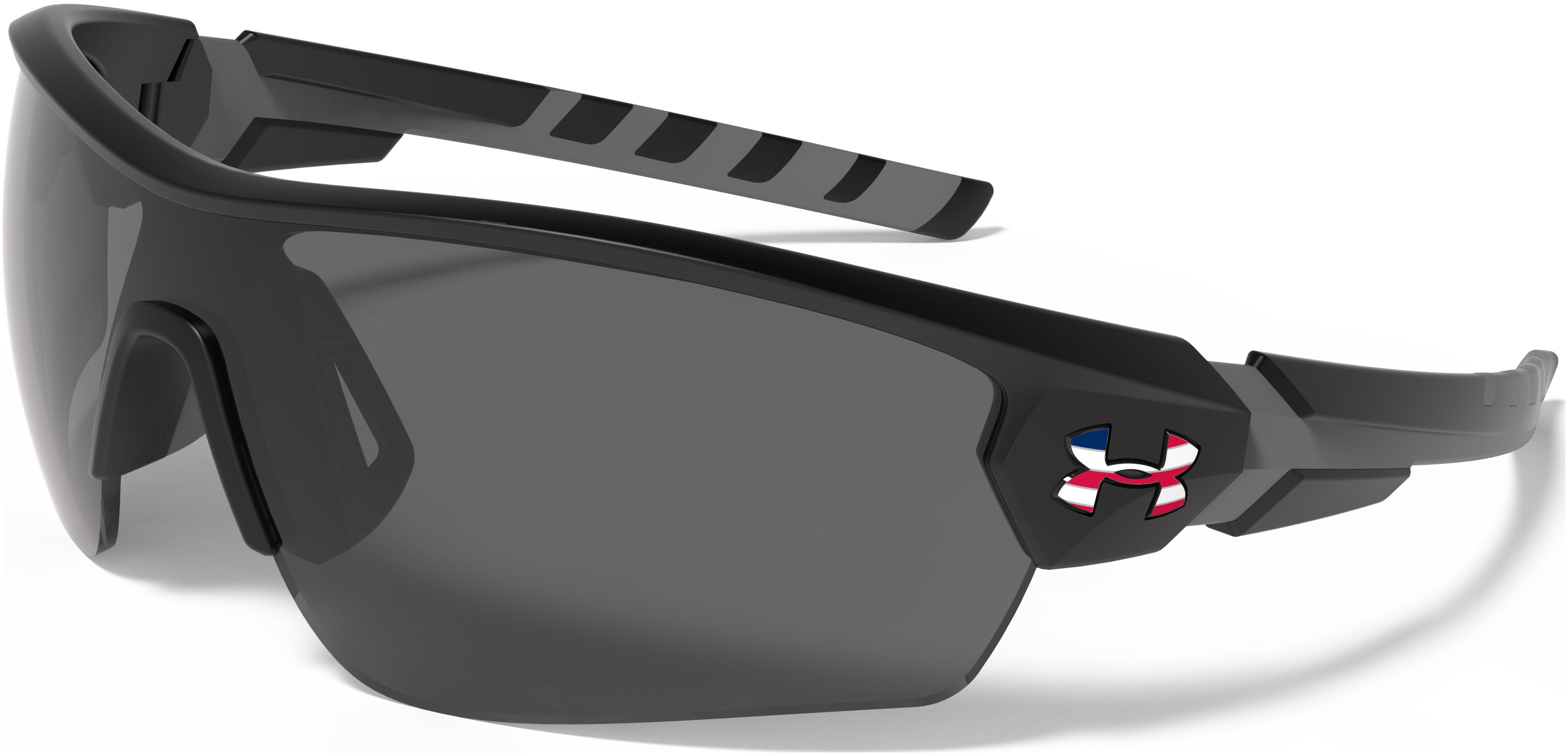 UA Freedom Rival Sunglasses, Satin Black