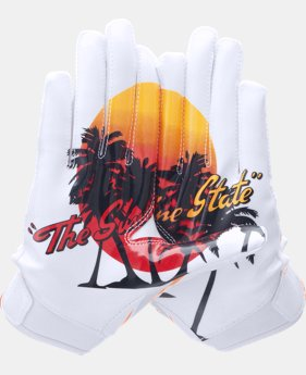 Boys' UA Pipeline F5 Football Gloves  5 Colors $34.99