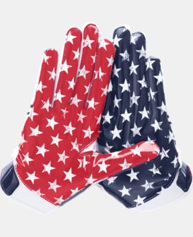 Boys' UA Pipeline F5 Football Gloves  1 Color $26.99