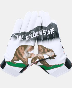 Best Seller Boys' UA Pipeline F5 Football Gloves   $34.99