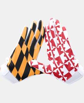 Boys' UA Pipeline F5 Football Gloves  3 Colors $20.99