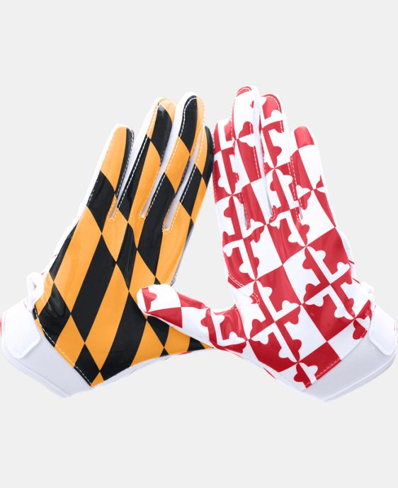 Boys' UA Pipeline F5 Football Gloves LIMITED TIME: FREE U.S. SHIPPING 3 Colors $26.99