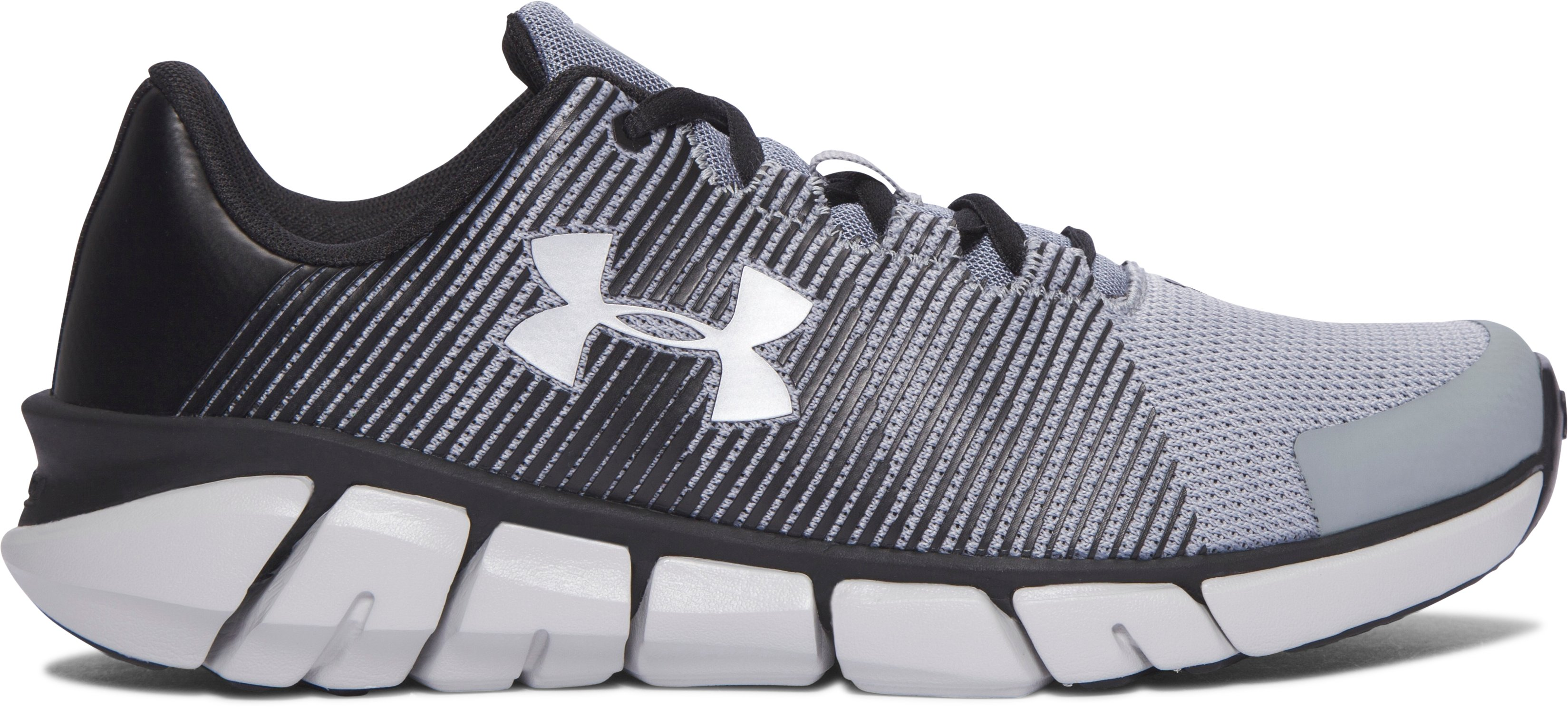 Boys' Grade School UA X Level Scramjet Running Shoes, Steel,