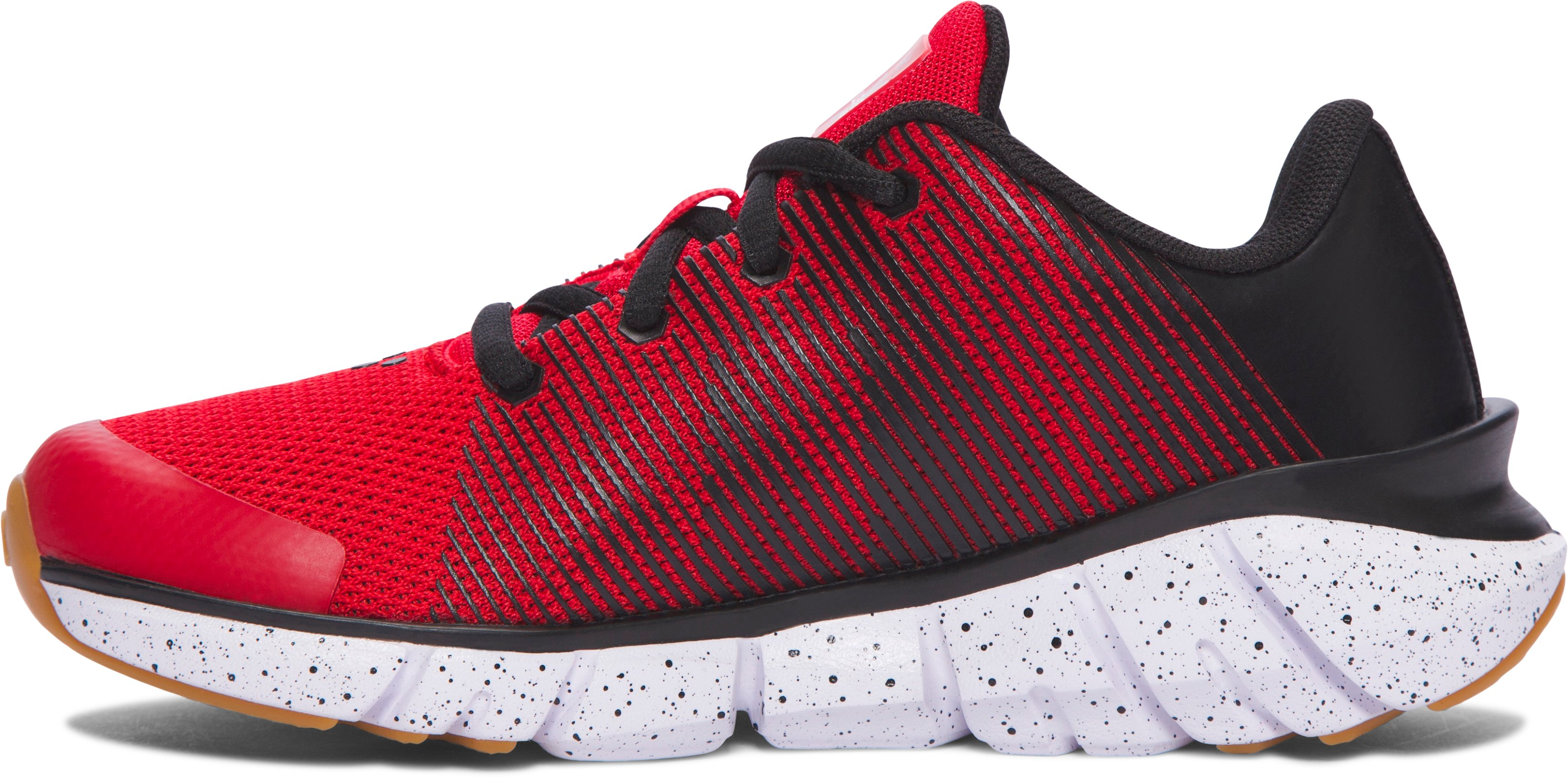 Boys' Pre-School UA X Level Scramjet Running Shoes, Red,