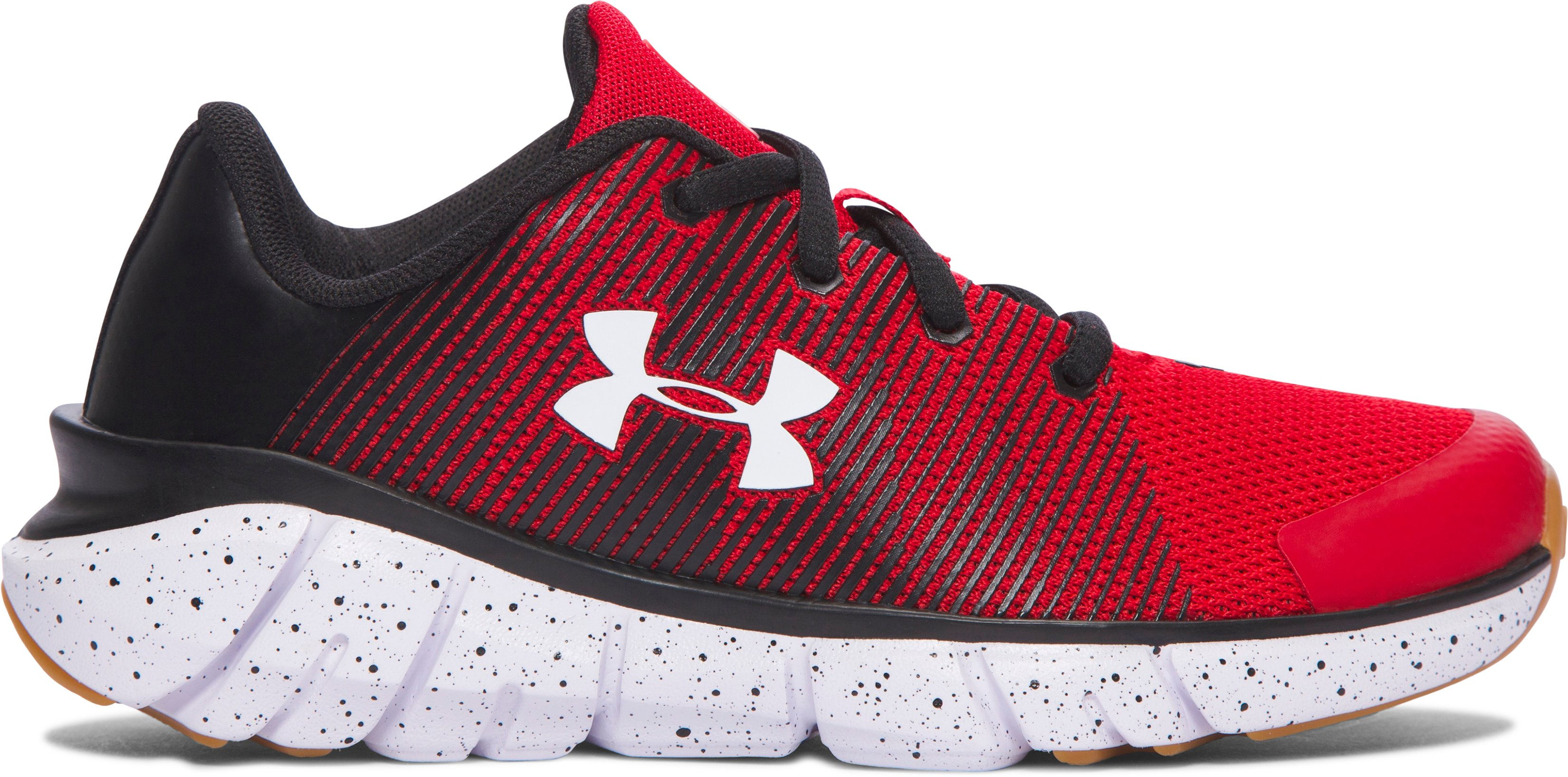 Boys' Pre-School UA X Level Scramjet Running Shoes, Red