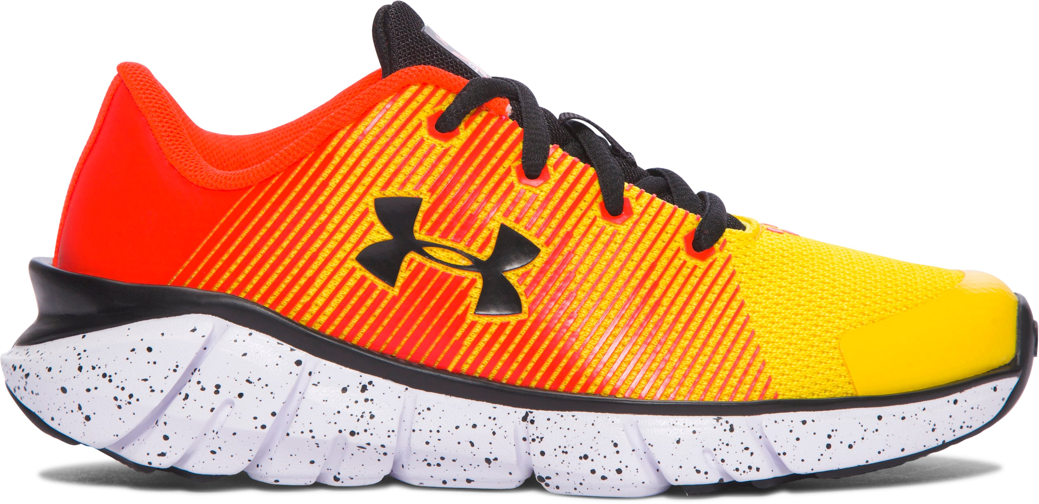 Boys' Pre-School UA X Level Scramjet Running Shoes, Taxi, undefined