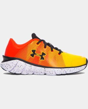 New Arrival  Boys' Pre-School UA X Level Scramjet Running Shoes  1 Color $79.99