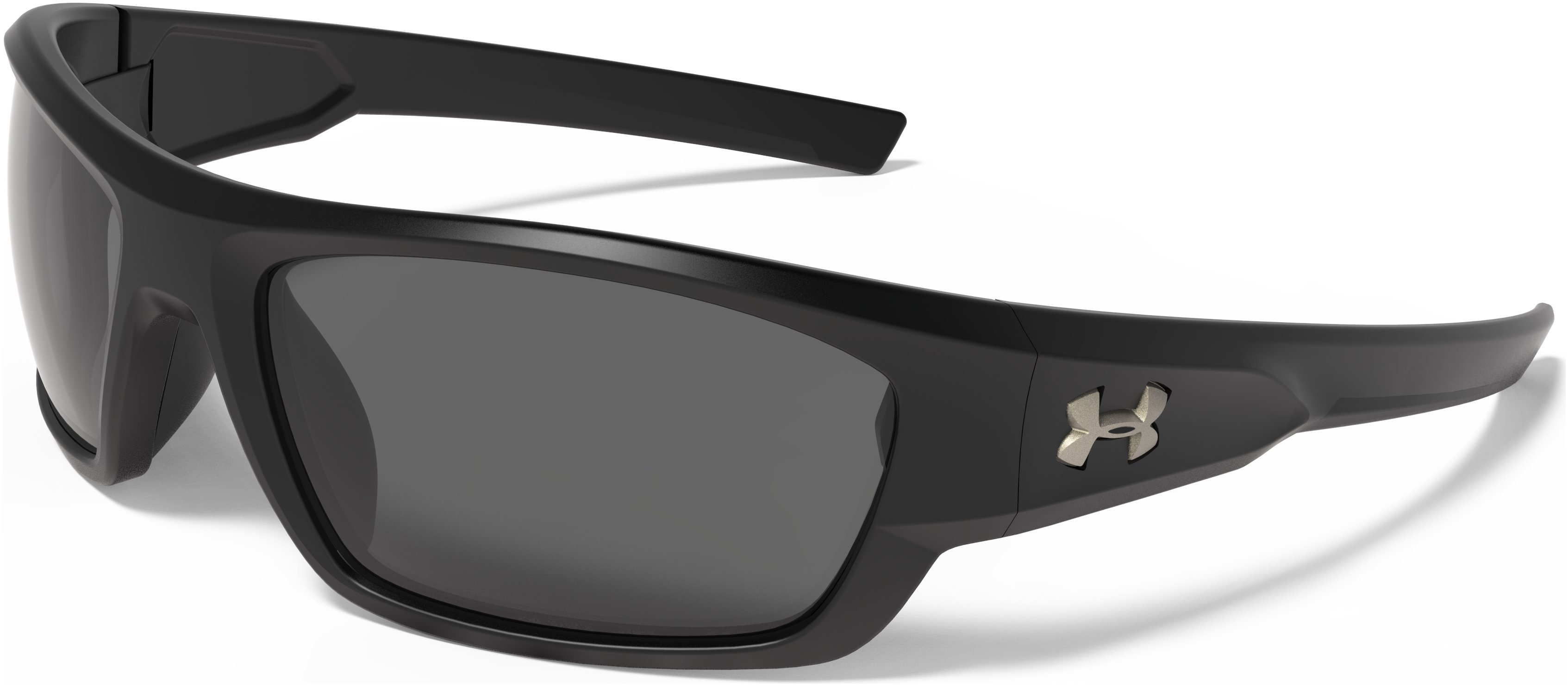 UA Force Storm Polarized Sunglasses, Satin Black