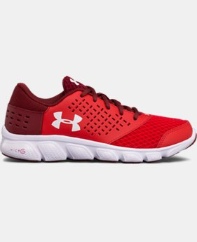 Best Seller Boys' Grade School UA Micro G® Rave Running Shoes  2 Colors $54.99